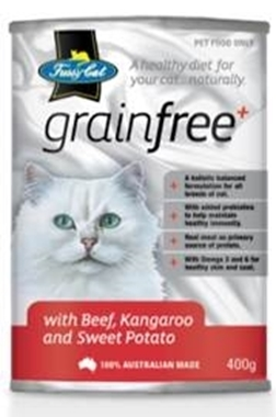 Picture of Fussy Cat Beef & Kangaroo - 12 x 400g