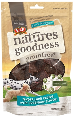 Natures Goodness Lamb Jerky 1kg