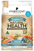Picture of SHORTER DATED - Ocean Fish & Salmon - Grain Free - 4 x 2kg - Ivory Coat - Adult Dog - Dry