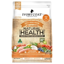 Picture of SHORTER DATED - Chicken with Coconut Oil - Grain Free - 4 x 2kg - Ivory Coat - Adult Dog - Dry