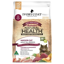 Picture of SHORTER DATED - Chicken & Kangaroo with Coconut Oil - Grain Free - 4 x 3kg - Ivory Coat - Adult Cat - Dry