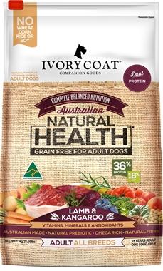 Picture of Ivory Coat Lamb & Kangaroo - Adult Dog - Dry 13kg