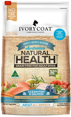 Picture of Ivory Coat  Ocean Fish & Salmon - Grain Free -  Adult Dog - Dry 13kg