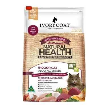 Picture of Ivory Coat Chicken & Kangaroo with Coconut Oil - Grain Free - Adult Cat - Dry - 6kg