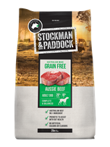 Picture of HERE NOW ...Stockman & Paddock Grain Free Beef 20kg