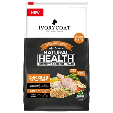 Picture of Ivory Coat Chicken & Brown Rice Dry Dog Food 18kg